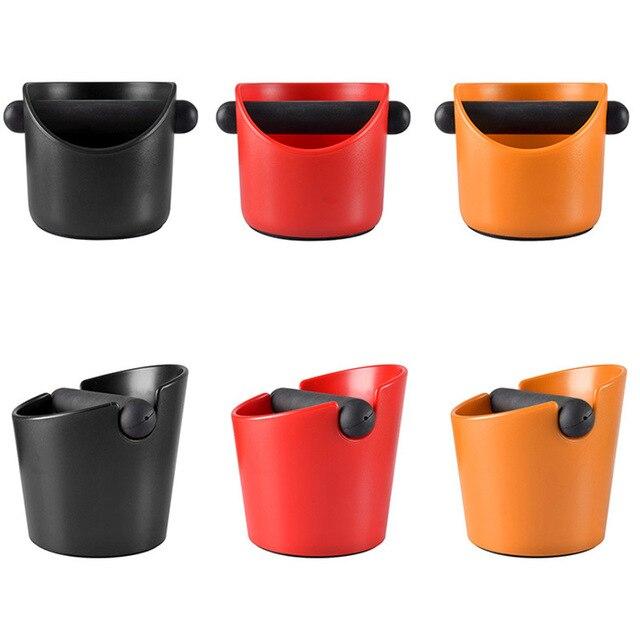 GUNOT poubelle à café expresso avec poignée   Boîte à café, absorbant les chocs, conteneur de café, broyeur de café, boîte à résidus