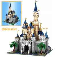 2019 neue 8388Pcs Paradise Prinzessin Cinderella Traum Burg Creator UCS Set Bausteine Ziegel fitlegoingsKids Weihnachten Spielzeug