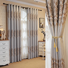 High-end European-style Jacquard Curtains Suitable for Luxury Living Room Bedroom Villa Curtains Window Screen european style villa luxury embroidered living room decorated bay window curtains high end bedroom floor curtains luxury drapes