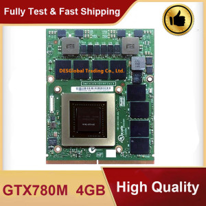 Original GTX780M GTX 780M GDDR5 4GB N14E-GTX-A2 Video Graphic Card With X-Bracket For Dell M18X R2 R3 R4 M17X R4 R5 Laptop(China)