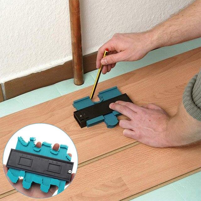 12/14/25 Cm nieregularne kontury Gauge Arc linijka plastikowy miernik kontur profil skala szablon krzywizna skala dachówka laminat