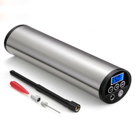 Mini Electric Portable Inflator 150PSI Car Bicycle Pump Electric Auto Air Compressor Motorcycle Pumps EU PLUG with LCD Display