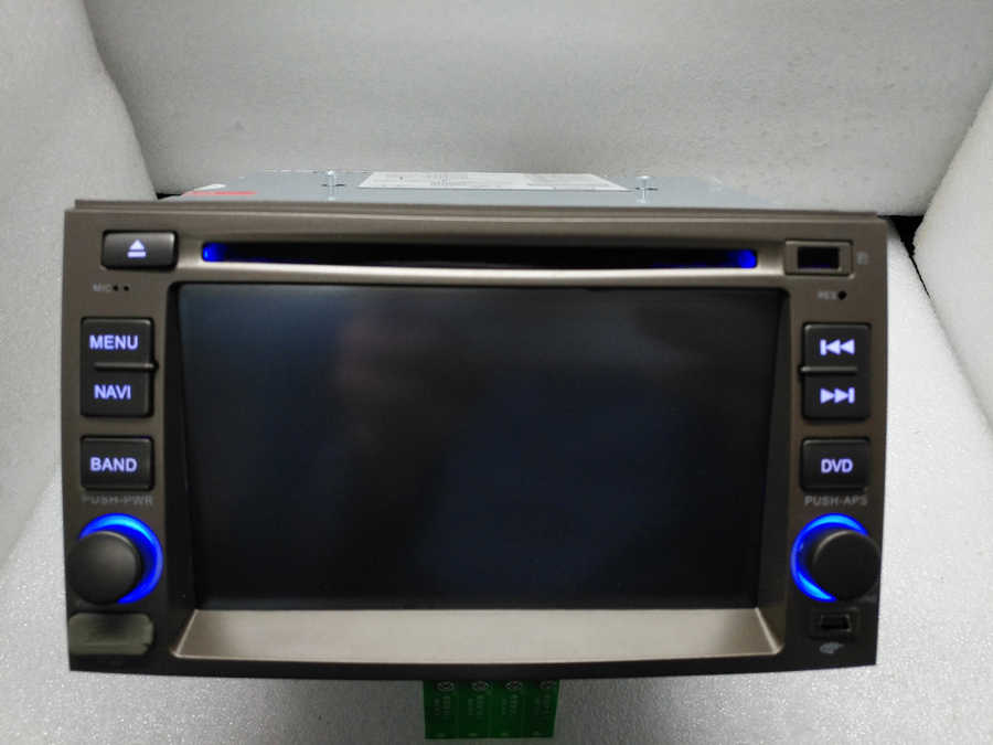 BYNCG 6.2 inch Car Radio 2 Din DVD Player GPS Navigation in Dash Car PC Stereo TV BT USB SD FOR HYUNDAI  Azera 2005~2011