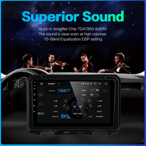 "Image 4 - Dasaita Dsp 9 ""Ips Touchscreen Android 10.0 Auto Radio Voor Suzuki Jimny 2019 Gps Navigator Hdmi Auto Stereo multimedia Systeem"