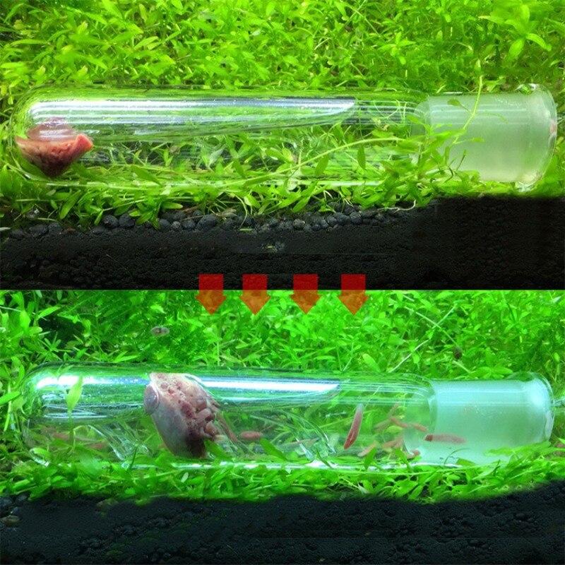 Аквариум червь ловушка садок для рыбы вредителей поймать ловушка Ловец пиявок для Planarian Flatworm
