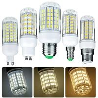 1000 Lumen 6W 12W 15W 20W 25W bombilla LED tipo mazorca bombillas 110V 220V E27 B22 Luce LED E14 G9 GU10 Base de tornillo blanco lámparas 360 Ray