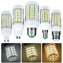 1000 Lumen 6W 12W 15W 20W 25W LED Corn Light Bulbs 110V 220V E27 B22 Luce LED E14 G9 GU10 Screw Base Neutral White Lamps 360 Ray