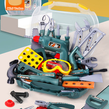 Repair-Tool-Set Screwdriver Game Educational-Toys Learning Pretend-Play Plastic Girls