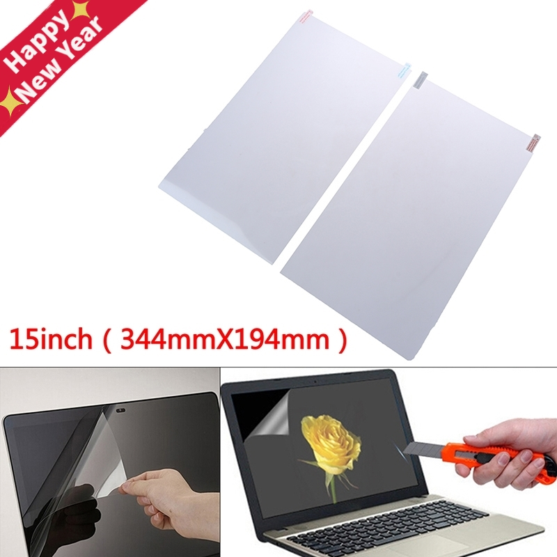 Ultra-thin Crystal Clear Film Screen Guard Protector Laptop Cover For 15 Inch Laptop Screen Protector