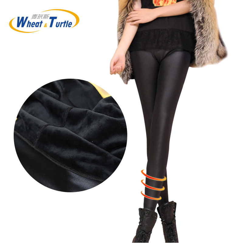 2019 New Autumn Winter Thicken Velvet Warm Leggings For Pregnant Women Maternity Slim Fashion Artificial Leather Pencil Pants