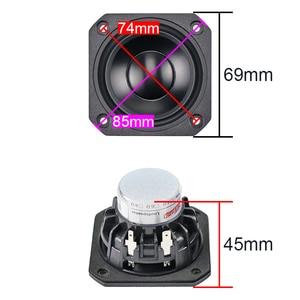 Image 2 - GHXAMP 2.5 pouces gamme complète haut parleur 4ohm 15W néodyme céramique alumine pleine fréquence haut parleur Bluetooth haut parleur bricolage 2 pièces