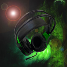 цена на V5000 Computer Stereo Gaming Headphones Best Casque Deep Bass Game Earphone Headset with Mic LED Light for PS4 PC Gamer For Xbox