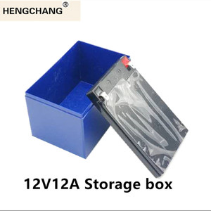Image 2 - Replace 12v 12a Lead Acid Battery Case for Electric Sprayer UPS Solar Power Li Ion Special Plastic Box HENGCHANG Dropshipping