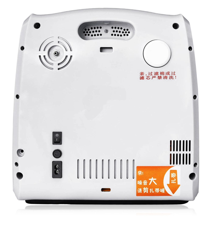 Przenośny koncentrator tlenu generator 6L regulowana maszyna do robienia tlenu oczyszczacz powietrza z kontrolą Reomte