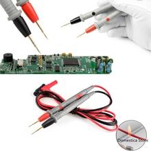 Multimètre numérique, 1 paire, 1000v, 20a, pointe spéciale, Clip, pointe Fine, bâton de Test, plomb, broche