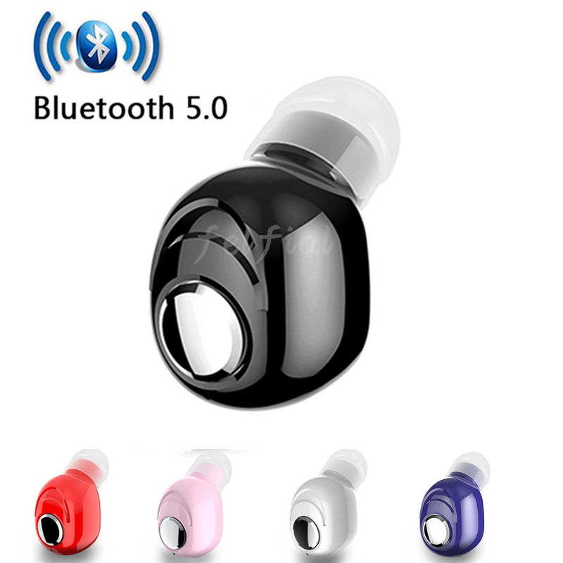 Mini Wireless Bluetooth Earphone V5.0 Stereo In-ear Headset With Mic Sports Running Earbuds Earphones For Samsung Huawei Xiaomi