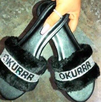 Barbie Fur Slippers 3