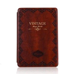 Image 5 - Pour iPad mini1 2 3 étui en cuir Vintage étanche rétro impression étui pour tablette Flip Stand couverture intelligente pour Apple iPad mini4 mini5