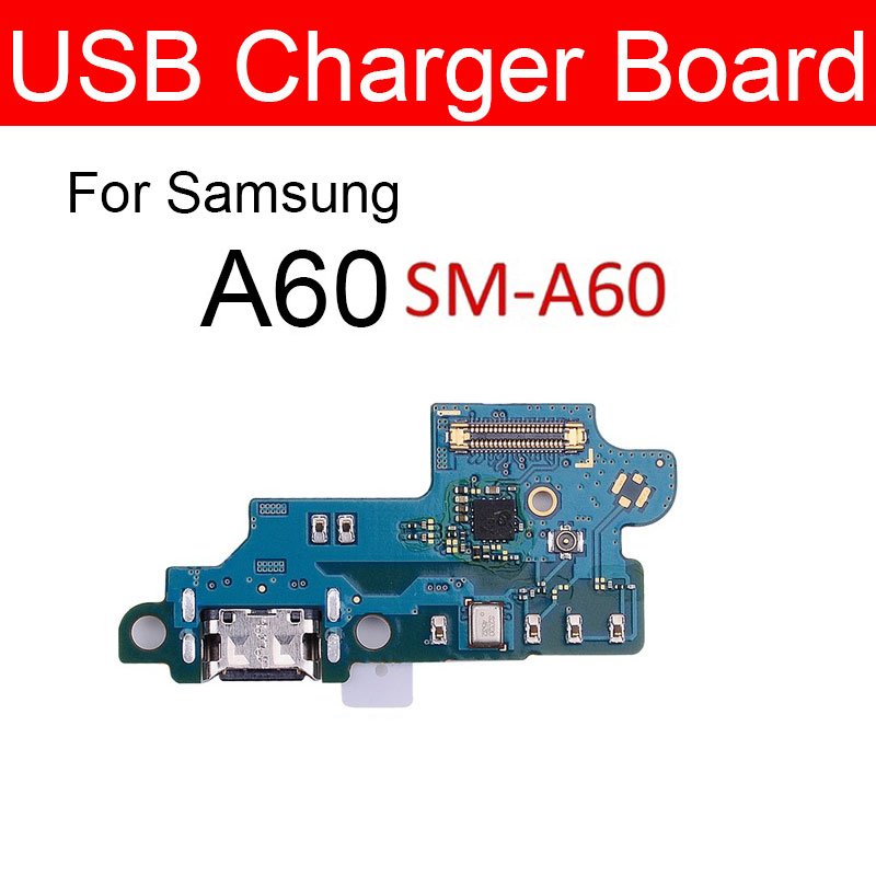 Usb Plug Charge Board For <font><b>Samsung</b></font> <font><b>Galaxy</b></font> <font><b>A60</b></font> <font><b>SM</b></font>-<font><b>A6060</b></font> <font><b>A6060</b></font> Chargring USB Jack Port Board Replacement Parts Accessories image