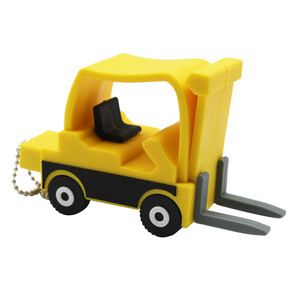 TEXT ME cartoon pendrive new style Forklift usb2.0 4GB 8GB 16GB 32GB pen drive USB Flash Drive creative Pendrive 64GB