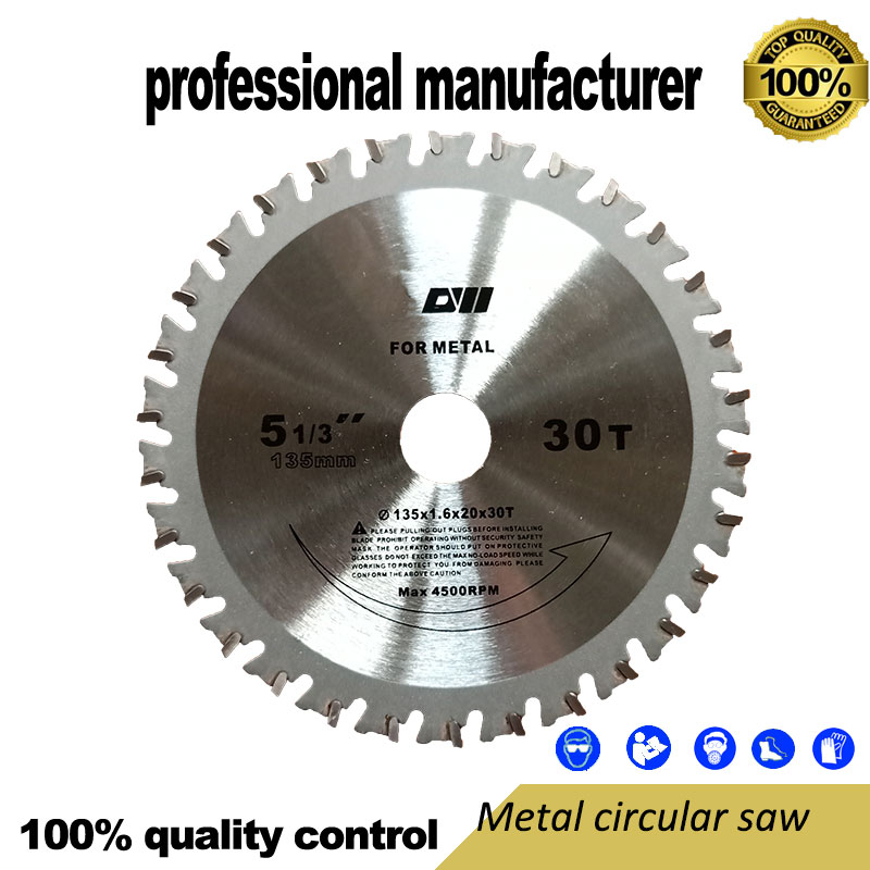135mm Metal Saw For Thin Aluminum Alloy Stainless Steel Color Steel Tile Saw Blade Thin Iron Block Cutting Sheet