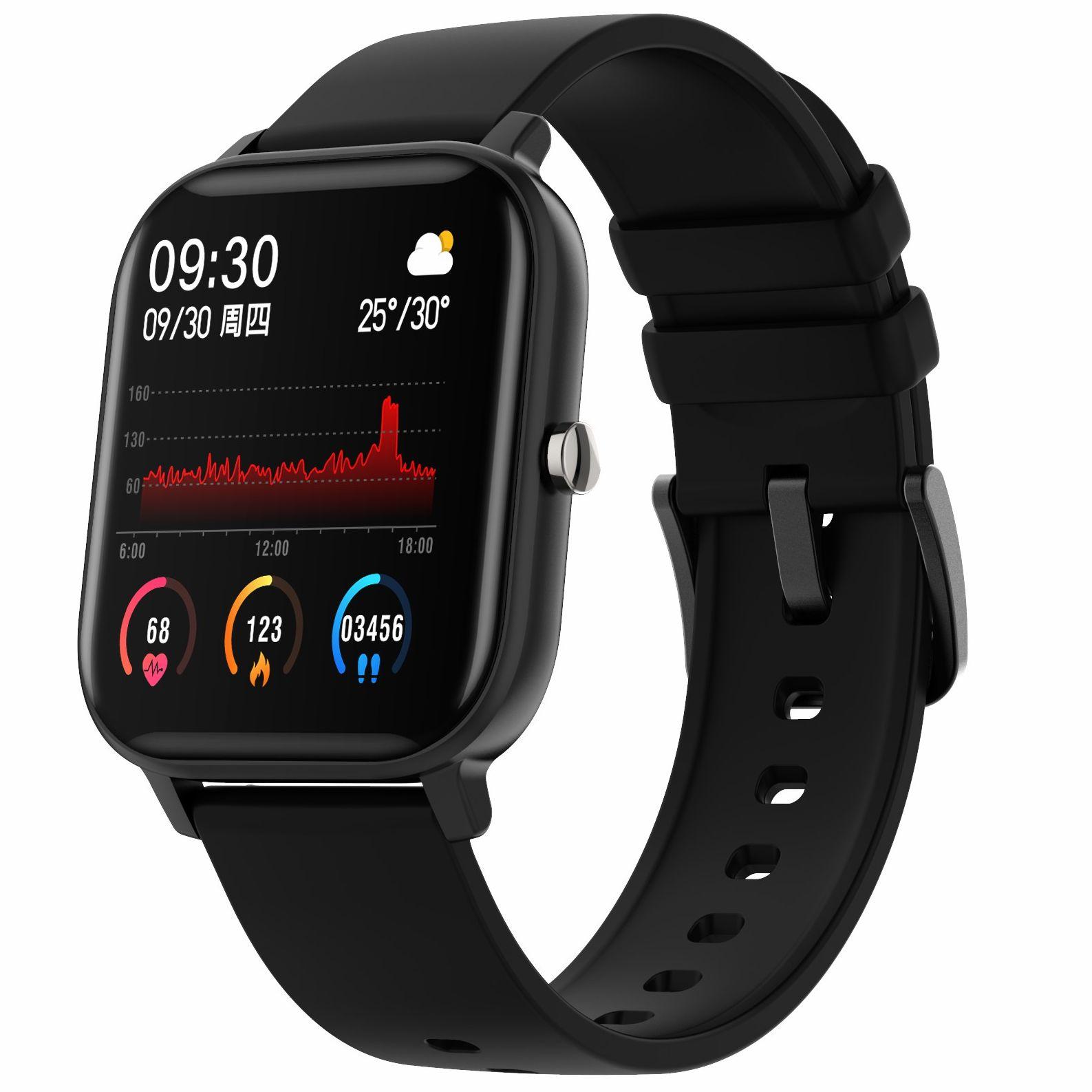 P8 1,4 дюймов Смарт-часы для мужчин полный сенсорный экран фитнес трекер приборы для измерения артериального давления умные часы для женщин GTS...