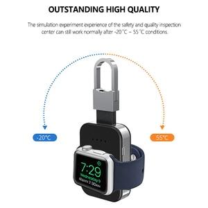 Image 5 - שעון Qi מטען אלחוטי 950mAh מיני PowerBank עבור אפל iWatch 5 4 3 2 1 נייד חיצוני סוללה כוח בנק מטען אלחוטי