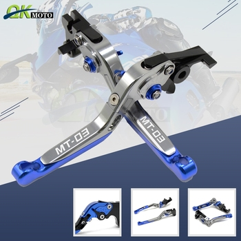 YZF R3 r3 yzfr3 Motorcycle Accessories CNC Extendable Foldable Brake Clutch Levers For Yamaha yzf r3 YZF R3 YZFR3 2015 2016 2017
