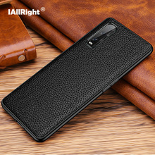 Luxury Litchi Texture Genuine Leather Cover Case For OPPO Find X2 Pro Phone Bags Fundas Coque Anti knock