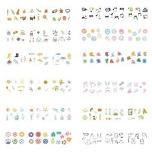 40pcs/box Holiday Stationery Stickers Sealing Label Travel Sticker DIY Scrapbooking Diary Planner Albums Decorations цена