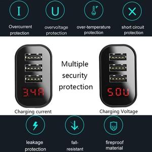 Image 5 - Baseus carregador usb para iphone 11 pro max 30w carga rápida para xiaomi mi huawei companheiro vermelho 30 pro carga rápida 4 portas de carregamento usb