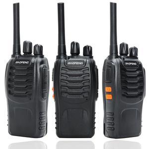 Image 2 - 2 adet Baofeng BF 88E PMR güncelleme sürümü 888S Walkie Talkie USB şarjlı UHF 446 MHz 0.5 W 16 CH el taşınabilir radyo