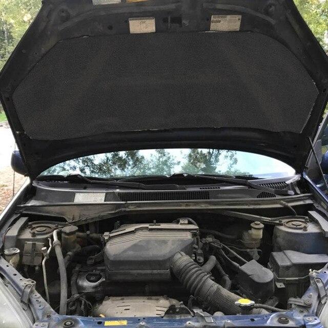 30*50cm 6/8/10mm Car Sound Heat Insulation Cotton Mats Engine Bonnet Deadening Firewall Noise Proofing Deadener Anti-noise Pads