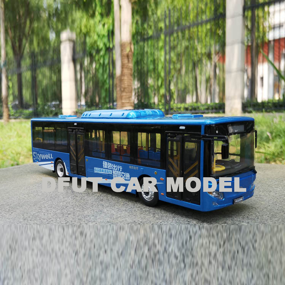 1:43 Alloy Toy Vehicles NJL6129EV(H12) BUS Car Model Of Children's Toy Cars Original Authorized Authentic Kids Toys