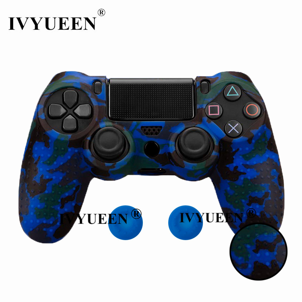 for PlayStation 4 ps4 Pro slim controller silicone case skin 19