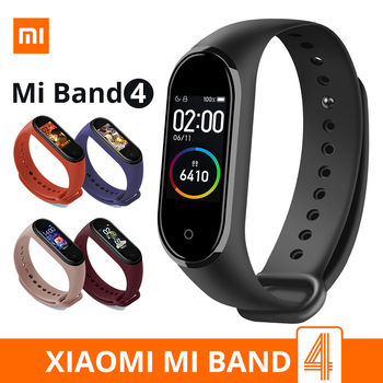 Xiaomi Mi Band 4 Smart Bracelet 3 Color AMOLED Screen Miband 4 Smartband Fitness Traker Bluetooth Sport Waterproof Smart Bands