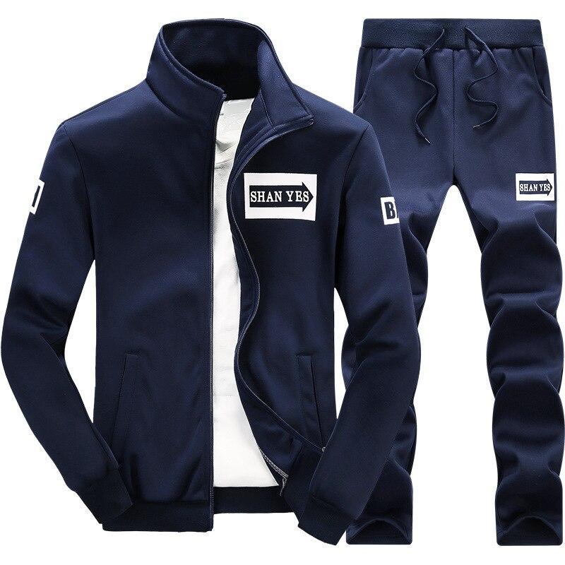 Amazon EBay AliExpress Set Spring And Summer MEN'S Cardigan Slim Fit Fashion & Sports Hoodie MEN'S Suit
