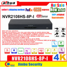 NVR By Camera Dahua Face-Detection Wizsense NVR2108HS-8P-I All-Channel 8CH AI 4K 8-Poe