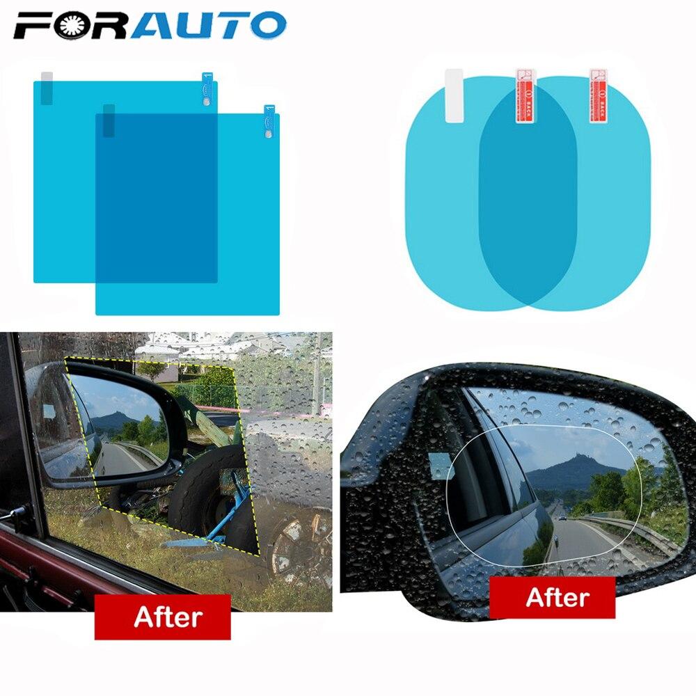 Membrana Impermeable Antinieblas y Antireflejo para Espejo Retrovisor de Carros