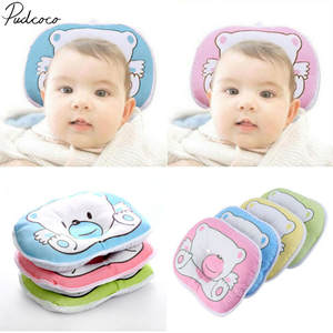 Baby Pillow Bedding-Accessories Flat-Head Neck-Syndrome Plagiocephaly Cartoon Soft Preventing