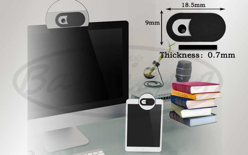 Cubierta de la cámara Web Protección de Privacidad obturador pegatina cámara para iPhone 6 7 8 plus Xiaomi Samsung Web Laptop iPad PC MacTablet lente