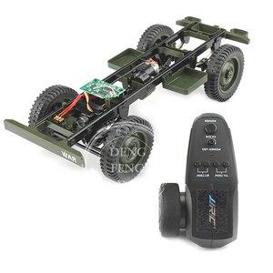 JJRC Q65 D844 1:10 2,4G RC запчасти для автомобиля рама + приемник + пульт дистанционного управления