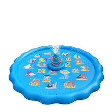 Inflatable Water Spray Pad Play Water Mat Summer Kids Play Water Mat Lawn Games Pad Sprinkler Play Toys Outdoor Tub Swiming Po