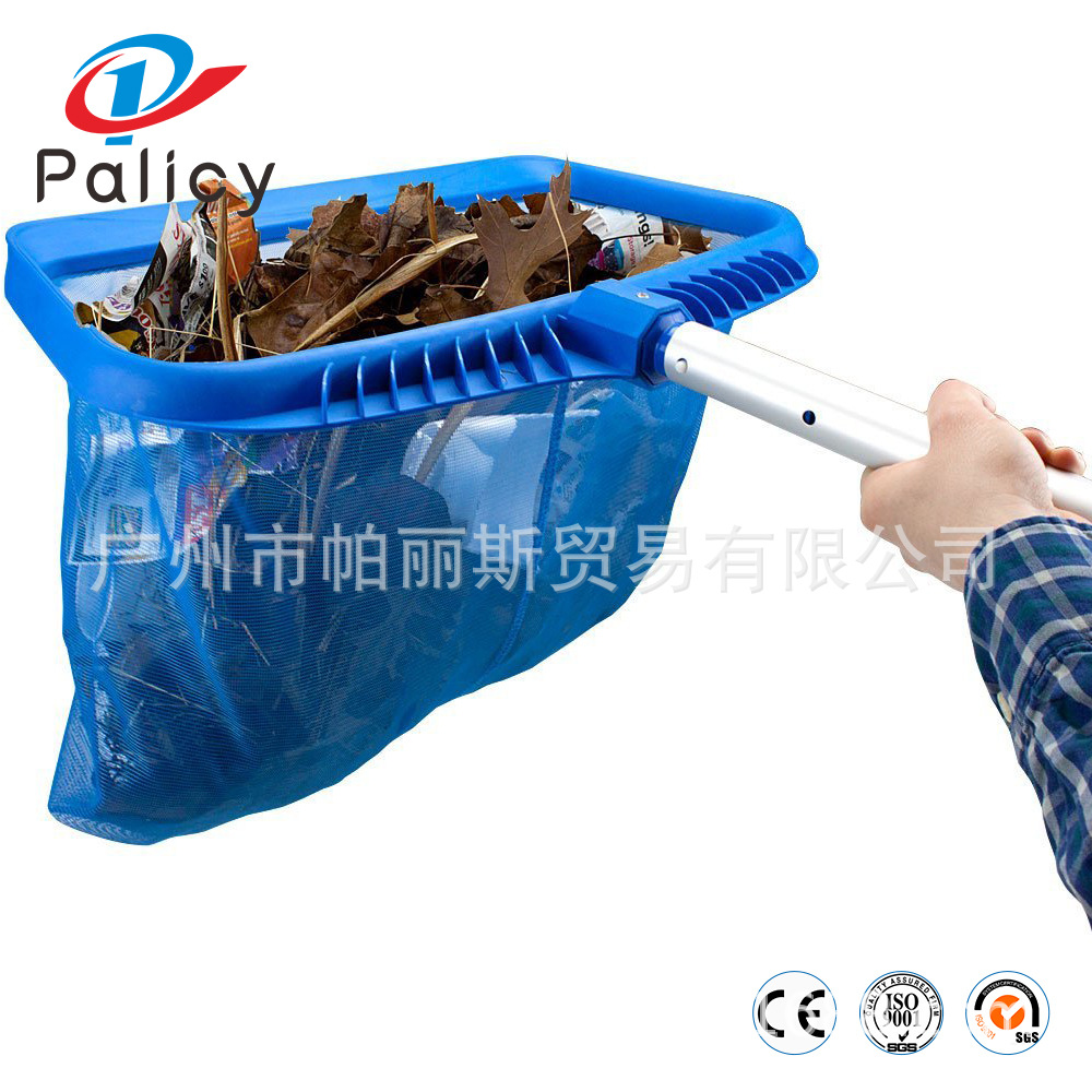 Swimming Pool Fishing Net Reinforced Deep Water Leaf Net Dredge Swimming Pool Cleaning Supplies Fish Pond Cleaning Tools