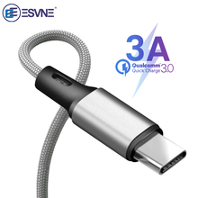 ESVNE 3A Fast Charging USB Type C Cable