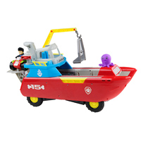 Paw Patrol Rescue boat Ryder Patrulla Canina Anime movies action toys Figure music Model for Child Christmas Gifts