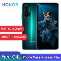 Original Honor 20 Pro teléfono Kirin 980 Android 9,0 de 6,26 IPS 2340X1080 8 GB RAM 256GB ROM 48.0MP huella dactilar NFC