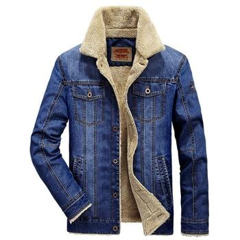 Chaqueta de lana para hombre, abrigo de lana para otoño e invierno,...