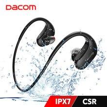 Dacom l05 ipx7 à prova dwaterproof água fones de ouvido bluetooth estéreo graves profundos sem fio fone para esportes em execução