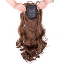 One-piece Hair Extension with Bangs
